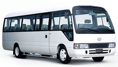 Singapore 23-seater passenger minibus rental, hire with a driver