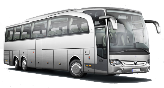 Asia 50-55 seater motor coach bus chauffeured rental hire with a driver