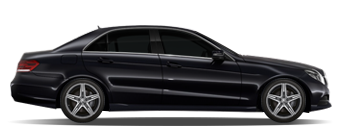 Asia mercedes E class sedan car chauffeured rental hire with a driver