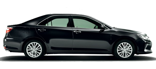 Asia Toyota Camry executive sedan car chauffeured rental hire with a driver