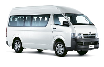 Singapore Toyota Hiace van rental, hire with a driver